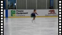Katya skating in the Spring In-House Competition
